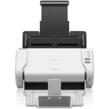 Escáner Documental Brother ADS-2200 con Alimentador de Documentos ADF/ Doble cara