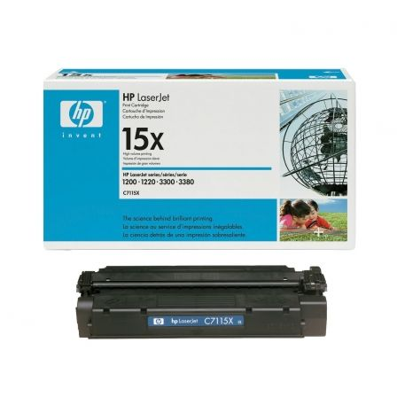 Tóner Original HP nº15X XL Alta Capacidad/ Negro