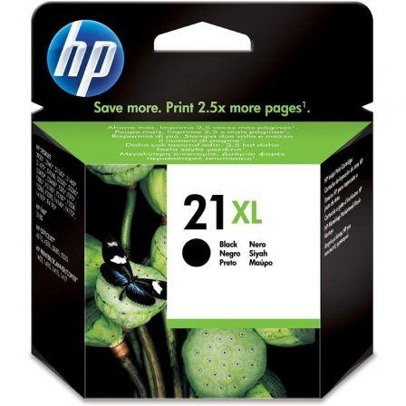 Cartucho de Tinta Original HP nº21 XL Alta Capacidad/ Negro