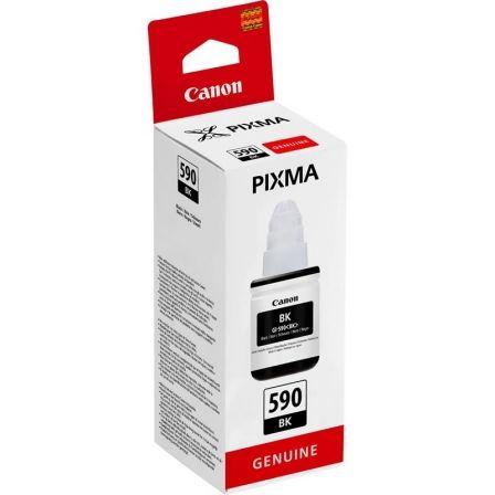 Botella de Tinta Original Canon GI-590/ Negra