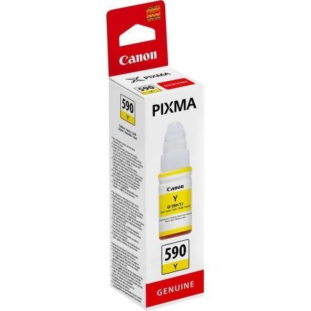 Botella de Tinta Original Canon GI-590/ Amarilla