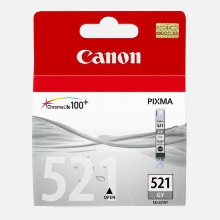 Cartucho de Tinta Original Canon CLI-521GY/ Gris