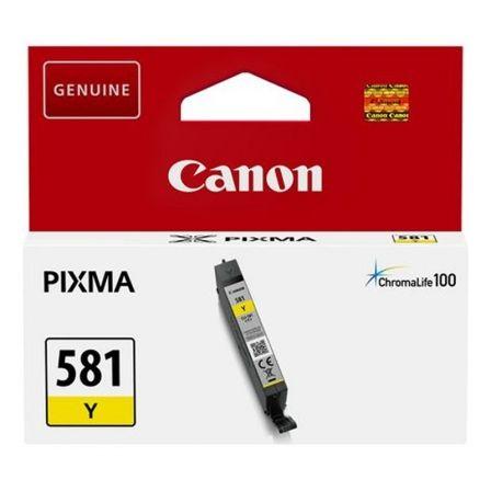 Cartucho de Tinta Original Canon CLI-581Y/ Amarillo