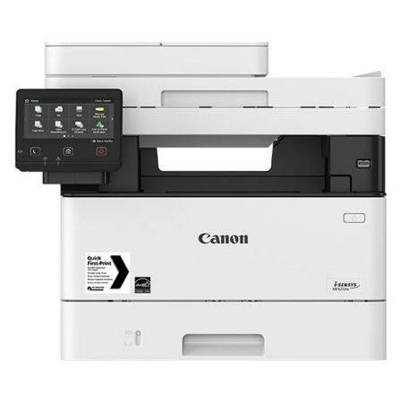 MULTIFUNCION CANON WIFI CON FAX LÁSER I-SENSYS MF421DW - 38PPM - SCAN DOBLE CARA - COPIA DOBLE CARA - LAN 10/100/1000 - TONER 052/052H