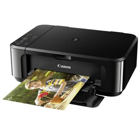 MULTIFUNCIÓN WIFI CANON PIXMA MG3650 NEGRA - RES 4800X1200PPP - 9.9/5.7PPM - DUPLEX - SCAN 1200X2400PPP - USB - CLOUD PRINT/AIR PRINT - PG-540/CL-541