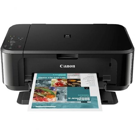 MULTIFUNCIÓN WIFI CANON PIXMA MG3650S NEGRA - RES 4800*1200PPP - 9.9/5.7PPM - DUPLEX - SCAN 1200*2400PPP - USB - CLOUD PRINT/AIR PRINT - PG-540/CL-541