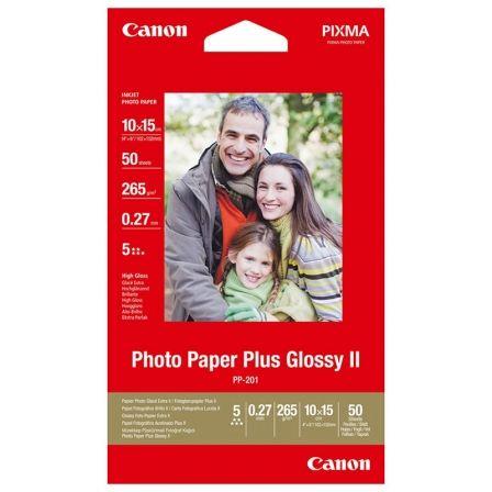 Papel Fotográfico Canon PP-201/ 10 x 15cm/ 265g/ Brillante