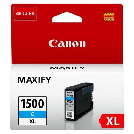 Cartucho de Tinta Original Canon PGI-1500XL Alta Capacidad/ Cian