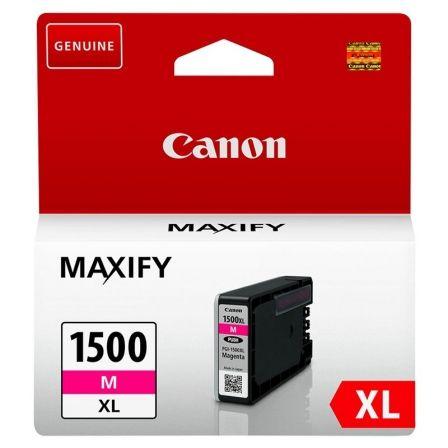 Cartucho de Tinta Original Canon PGI-1500XL Alta Capacidad/ Magenta