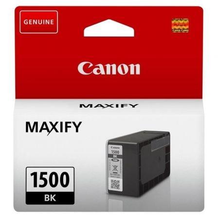 Cartucho de Tinta Original Canon PGI-1500BK/ Negro