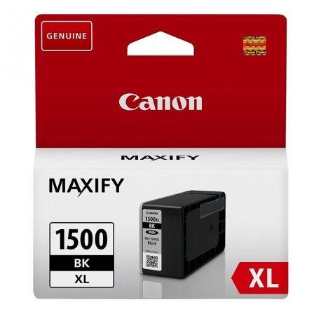 Cartucho de Tinta Original Canon PGI-1500XL Alta Capacidad/ Negro