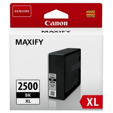 Cartucho de Tinta Original Canon PGI-2500XL Alta Capacidad/ Negro
