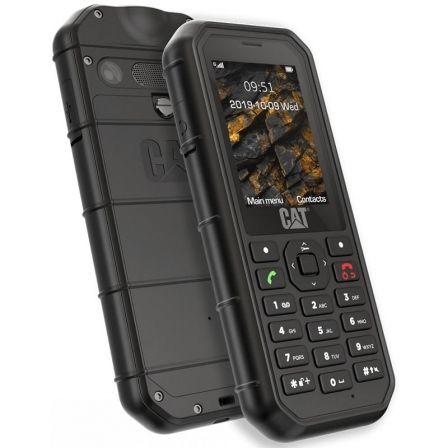 "TELEFONO MÓVIL CATERPILLAR B26 BLACK - 2.4""/6CM QVGA - CAM 2MP - DUAL SIM - FM - LINTERNA - MICROSD - BAT 1500MAH - RUGERIZADO"