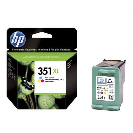 Cartucho de Tinta Original HP nº351 XL Alta Capacidad/ Tricolor