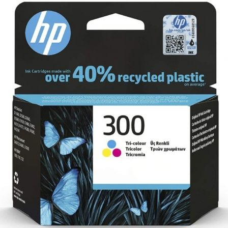 Cartucho de Tinta Original HP nº300/ Tricolor