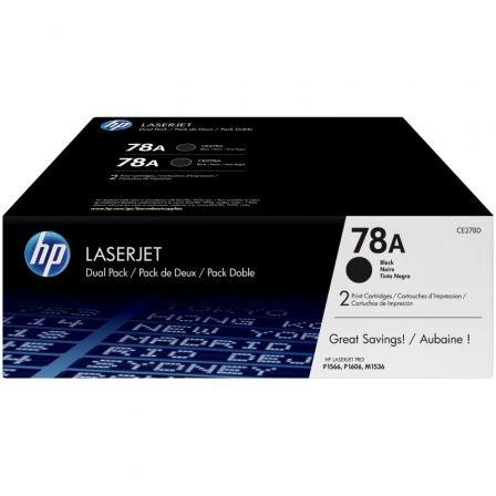 Tóner Original HP nº78A Multipack/ 2x Negro