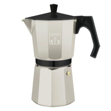 Cafetera Italiana Cecotec Mimoka 600/ 6 Tazas/ Beige