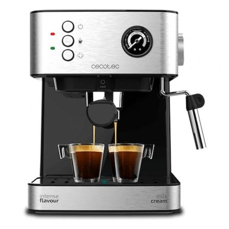 Cafetera Expreso Cecotec Power Espresso 20 Professionale/ 850W/ 20 Bares