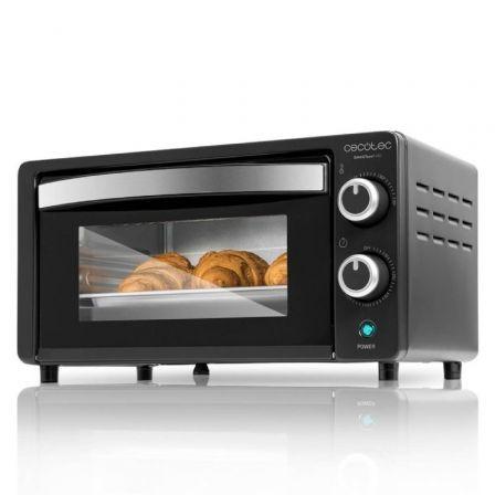 Horno de Sobremesa Cecotec Bake and Toast 450/ 1000W/ Capacidad 10L/ Negro