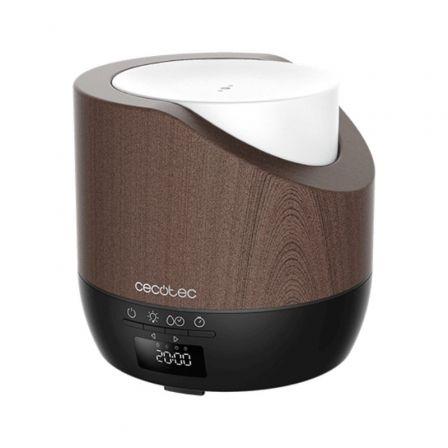 Humidificador Cecotec Pure Aroma 500 Smart Black Woody/ Capacidad 500ml