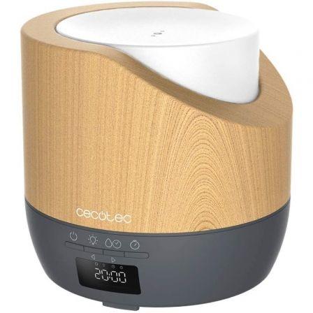 Humidificador Cecotec Pure Aroma 500 Smart Grey Woody/ Capacidad 500ml