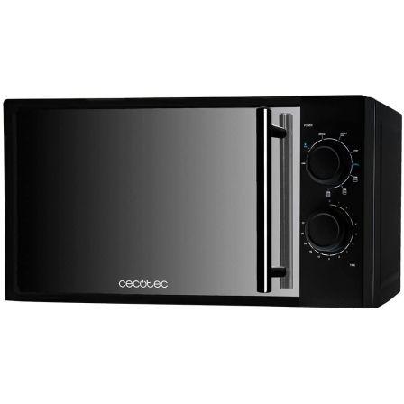 Microondas Cecotec All Black Grill/ 700W/ Capacidad 20L/ Función Grill/ Negro