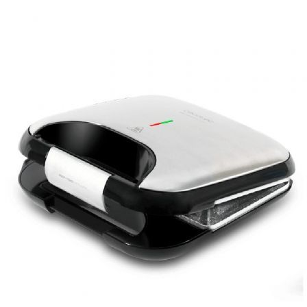 Sandwichera Cecotec Rock n Toast Fifty-Fifty/ 750W/ para 2 sandwiches