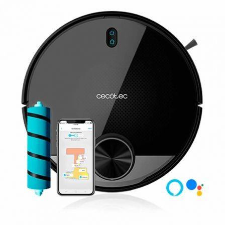 Robot Aspirador Cecotec Conga 3390/ Friegasuelos/ Autonomía 150 Min/ control por WiFi