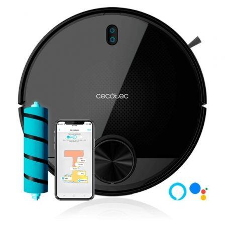 Robot Aspirador Cecotec Conga 3590/ Friegasuelos/ Autonomía 150 Min/ control por WiFi
