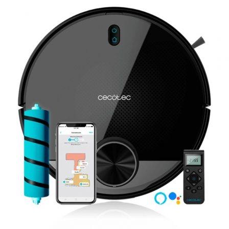 Robot Aspirador Cecotec Conga 3790/ Friegasuelos/ Autonomía 150 Min/ control por WiFi