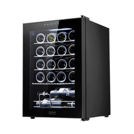 Vinoteca Cecotec Grand Sommelier 20000 Black Compressor/ 20 Botellas