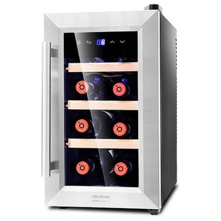 Vinoteca Cecotec Grand Sommelier 800 CoolWood/ 8 Botellas