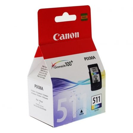 Cartucho de Tinta Original Canon CL-511/ Tricolor