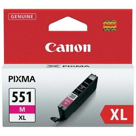 Cartucho de Tinta Original Canon CLI-551M XL Alta Capacidad/ Magenta