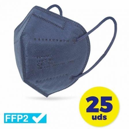 Mascarillas FFP2 Club Náutico / Pack 25 uds/ Azul