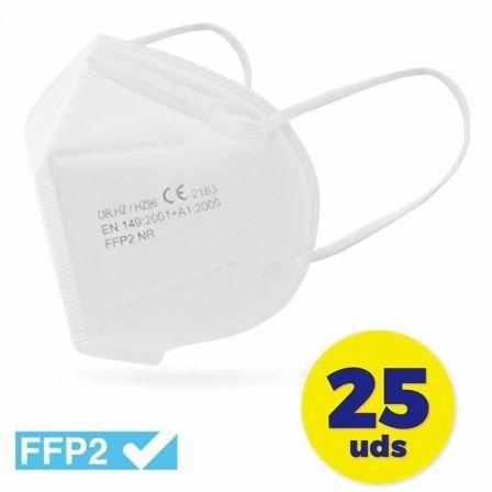 Mascarillas FFP2 Club Náutico / Pack 25 uds/ Blanca
