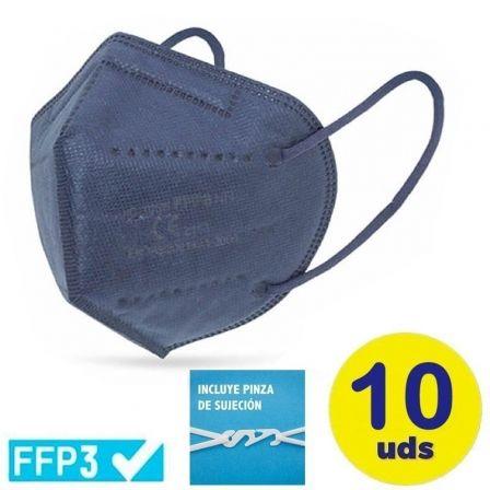 Mascarillas FFP3 Ultra Plus Club Náutico / Pack 10 uds/ Azul