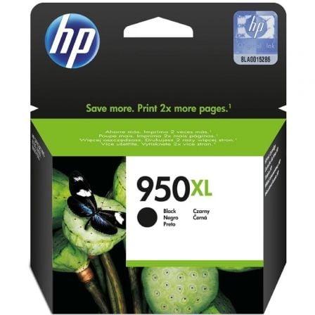 Cartucho de Tinta Original HP nº950 XL Alta Capacidad/ Negro