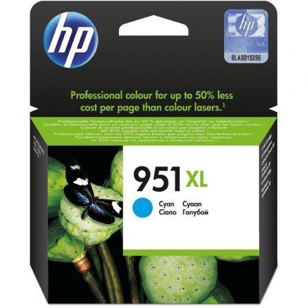Cartucho de Tinta Original HP nº951 XL Alta Capacidad/ Cian