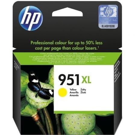 Cartucho de Tinta Original HP nº951 XL Alta Capacidad/ Amarillo