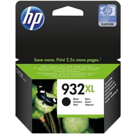 Cartucho de Tinta Original HP nº932 XL Alta Capacidad/ Negro