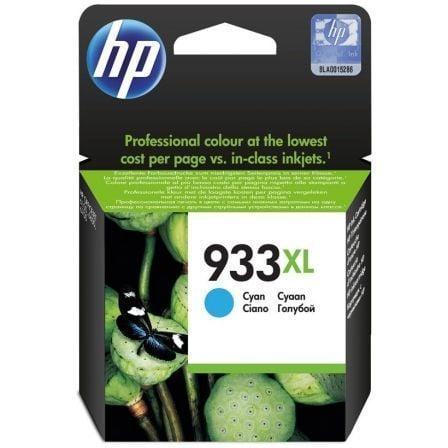 Cartucho de Tinta Original HP nº933 XL Alta Capacidad/ Cian
