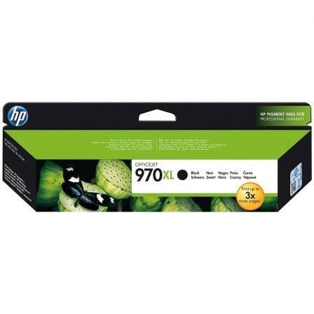 Cartucho de Tinta Original HP nº970 XL Alta Capacidad/ Negro