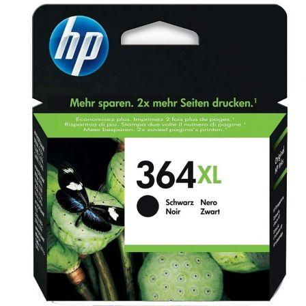 Cartucho de Tinta Original HP nº364 XL Alta Capacidad/ Negro