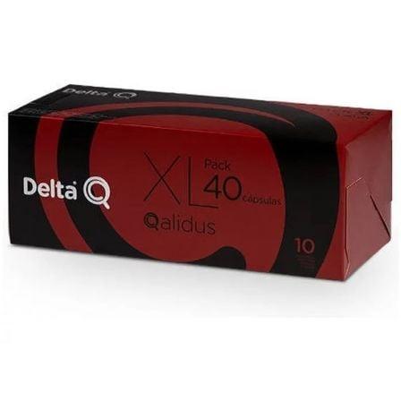 Cápsula Delta Qalidus para cafeteras Delta/ Caja de 40