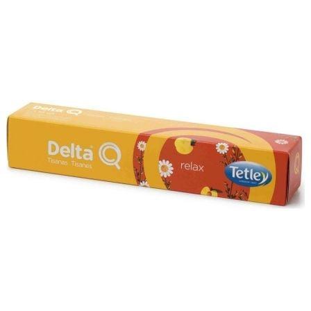 Cápsula Delta Relax para cafeteras Delta/ Caja de 10
