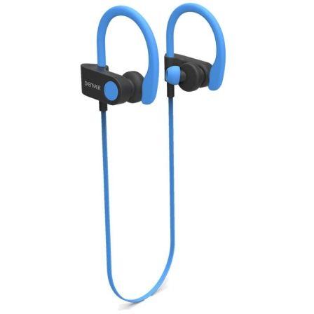 061601873e1 AURICULARES INTRAUDITIVOS BLUETOOTH DENVER BTE-110 BLUE - BT 4.2 - BATERÍA  RECARGABLE - MICROUSB - FUNCIÓN MANOS LIBRES