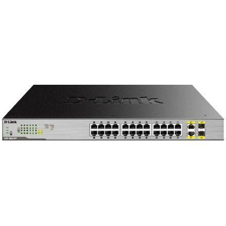 Switch D-Link DGS-1026MP 24 Puertos 10/100/1000 PoE/ SFP