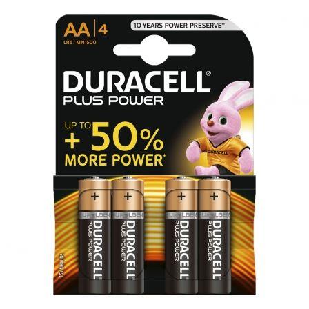 Duracell batería - 4 x tipo AA - Alcalino