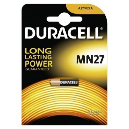 Pila A27 Duracell MN27/ 12V/ Alcalinas